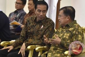 Jokowi-JK sebelum Sidang Kabinet