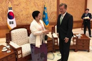Mega: Warga Dua Korea Ingin Reunifikasi