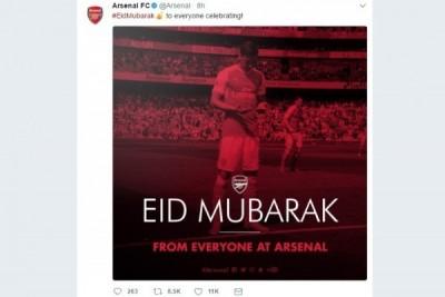 Ucapan Idul Fitri dari Klub Liga Inggris