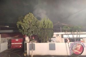 Rumah Dinas Pejabat Polda Jabar Terbakar
