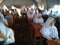 Siswa SMAN 30 Garut Belajar Dalam Tenda