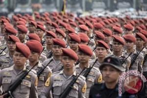 HUT ke-71 Polri Dipimpin Jokowi