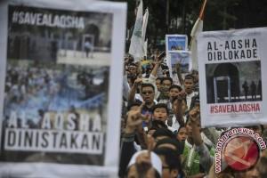 Warga Jabar Gelar Aksi Terkait Al-Aqsa
