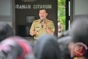 Sekda Jabar Mendapatkan Penghargaan Honorary Police