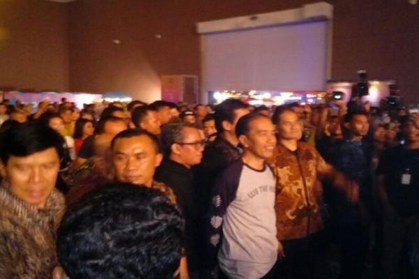 Jokowi Puji Musisi di Festival Musik