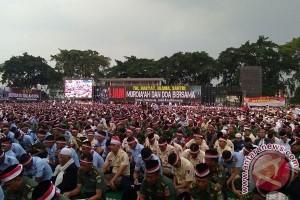 Masyarakat Kota Bandung Gelar Doa Bersama