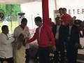 Jokowi Sapa Pemenang Kontes Domba Garut