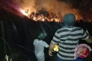 BPBD Pantau Hutan Gunung Guntur Yang Terbakar