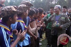 Aher di Jambore Pelajar
