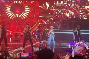 Agnez Mo Perkenalkan Lagu Terbaru di Tanah Air
