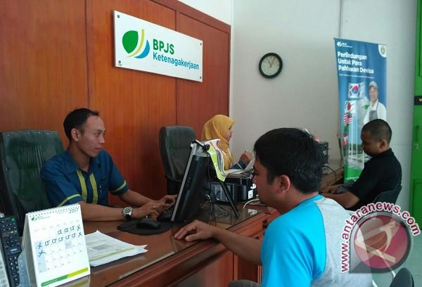 Puluhan Karyawan K5 Pasar Cipanas Ikut BPJS Ketenagakerjaan