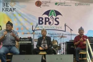 300 Musisi Bandung Ikut BPJS Ketenagakerjaan
