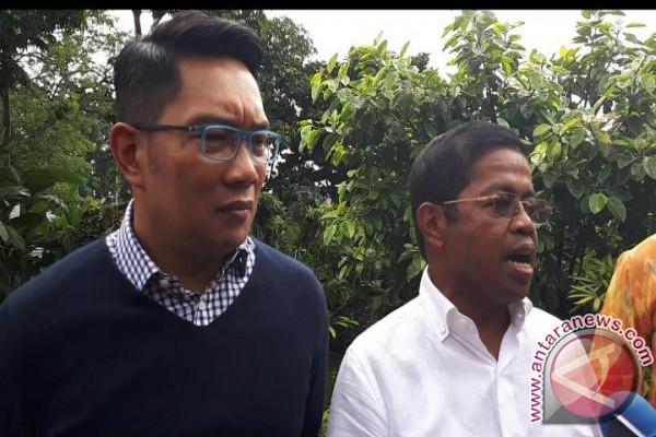 Idrus Marham Datangi Ridwan Kamil