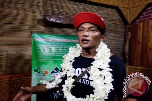 Fauzan Berhasil Bersepeda dari Bandung-Bali