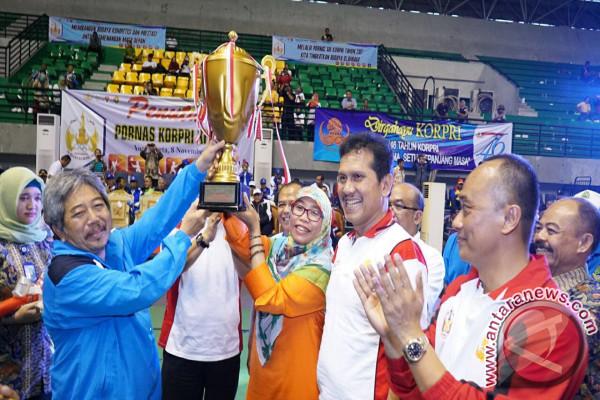 Jabar Juara Umum Kompetisi Olahraga PNS