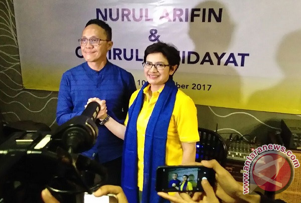 Nurul Arifin-Ruli siapkan program 100 penitipan anak