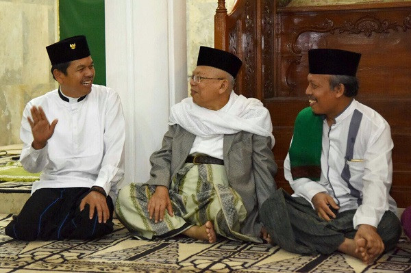 Kiai Ma'ruf Amin : Dedi Mulyadi Sosok Sabar, Selalu Punya Jalan