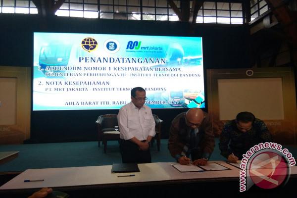 PT MRT Jalin Kerja Sama Dengan ITB