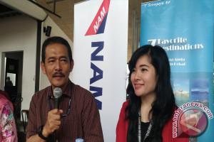 Nam Air Buka Rute Penerbangan Pangkalpinang-Bandung