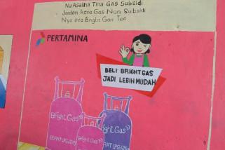 Pertamina kampanye kampung sadar gas di Bandung