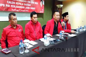 PDIP usung Yossi-Aris di Pilwakot Bandung