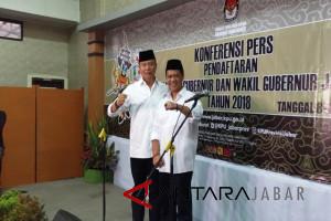 Tb Hasanuddin-Anton Charliyan pendaftar terakhir Pilgub Jabar