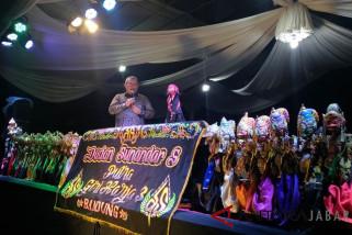 Aher dan Cepot tutup 2017 dengan doa