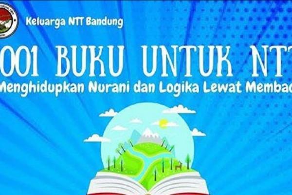 Mahasiswa Bandung donasi buku untuk warga NTT