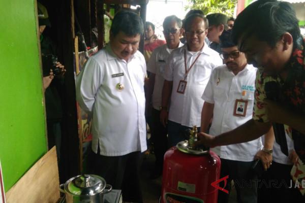 Masyarakat Garut manfaatkan limbah tempe jadi gas
