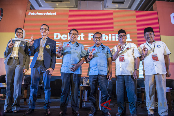 Pilkada 2018 - pakar: paparan kontestan pilwalkot Bandung belum solutif