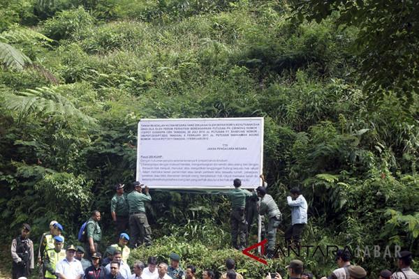 Pemkab Bogor dinilai turut abai jaga hutan