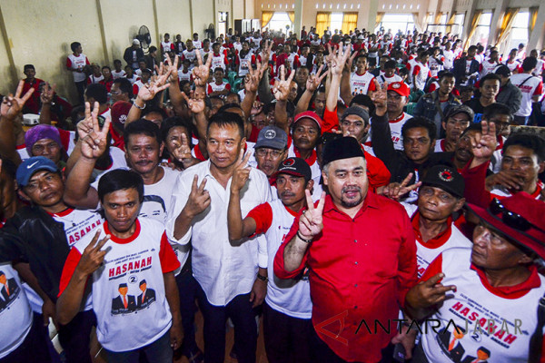 Ribuan perempuan akan deklarasi dukung  Hasanah