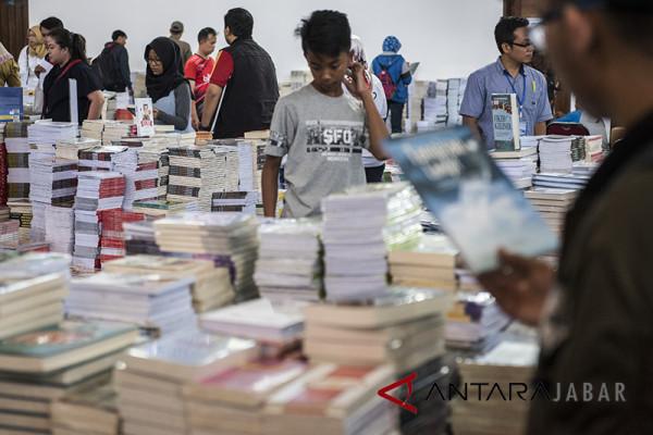 78.000 orang kunjungi Jabar Book Fair 2018