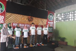 Relawan Cak Imin Bandung dirikan Posko Cinta