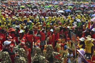 Parade Karnaval Raudatul Athfal