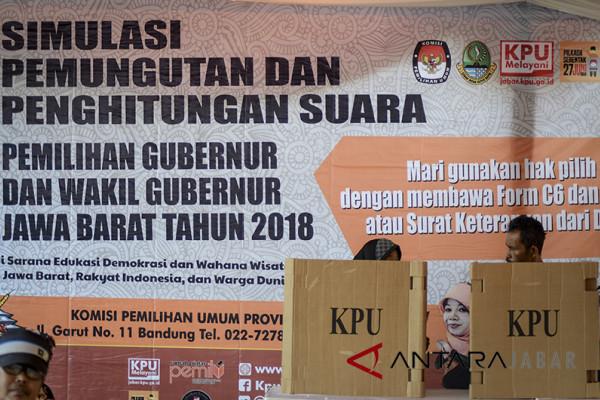 KPU Jabar prediksi kompetisi di TPS tinggi