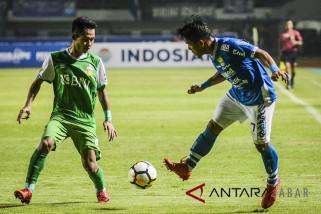 Persib kalah 0-1 dari Bhayangkara FC