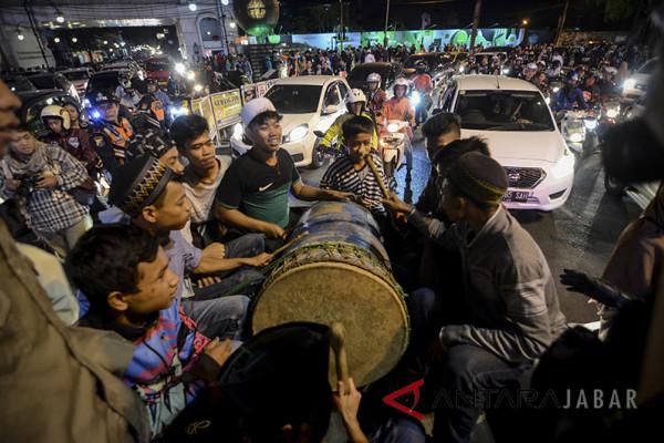 Malam Takbir di Bandung