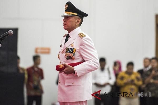 Pj Gubernur Jabar lakukan pemantauan logistik pilkada