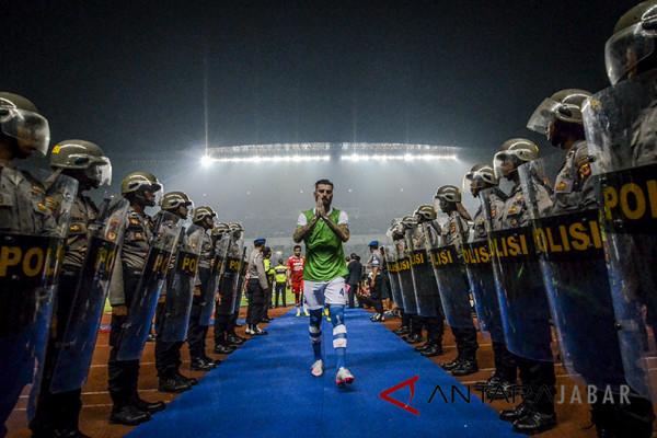 1.400 personel kawal laga Persib lawan Arema FC