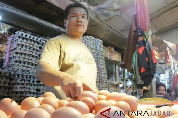 Harga telur di Kabupaten Bandung Rp29.000/kg