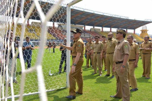 Renovasi Stadion Si Jalak Harupat Capai 99 persen
