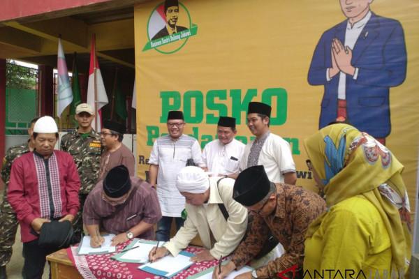 Resimen Santri dukung Pencapresan Jokowi di Pilpres 2019