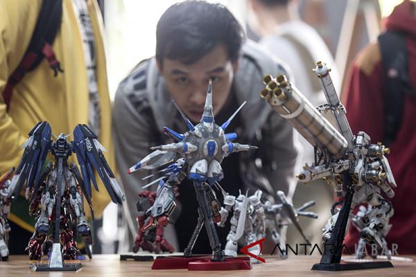Kompetisi modelkit robot Gundam