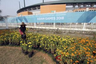 Stadion Pakansari jelang Asian Games 2018
