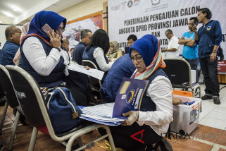 KPU Cirebon semua partai sudah daftarkan bacaleg