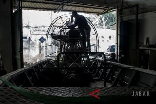 Produksi perahu rawa