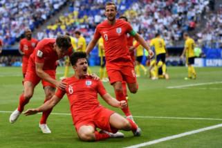 Taklukan Swedia 2-0 Inggris melenggang ke semifinal