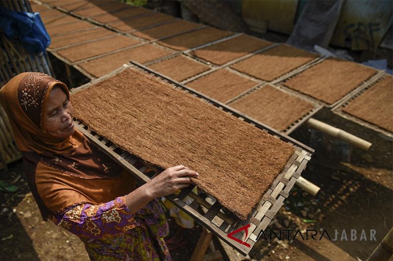 Produksi tembakau Jawa Barat