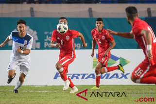 Kyrgizstan kontra Bahrain berakhir imbang 2-2